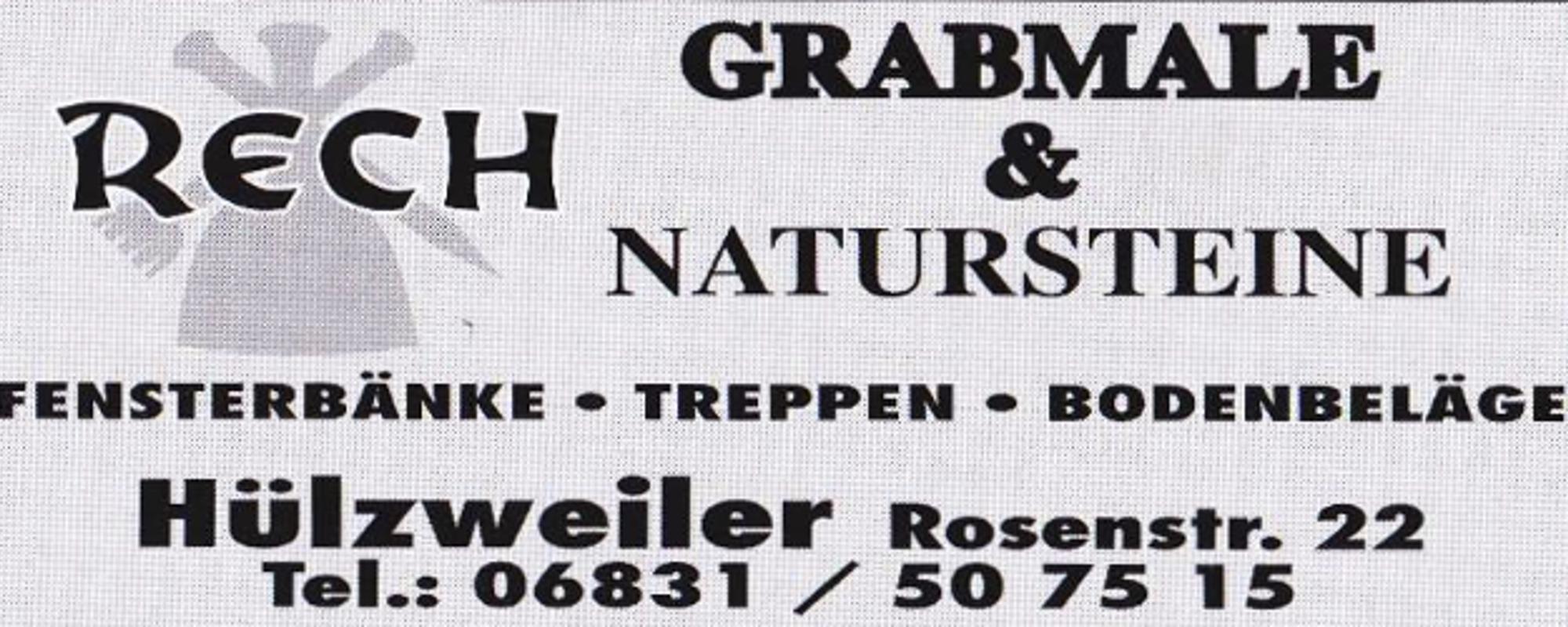 Grabmale Rech
